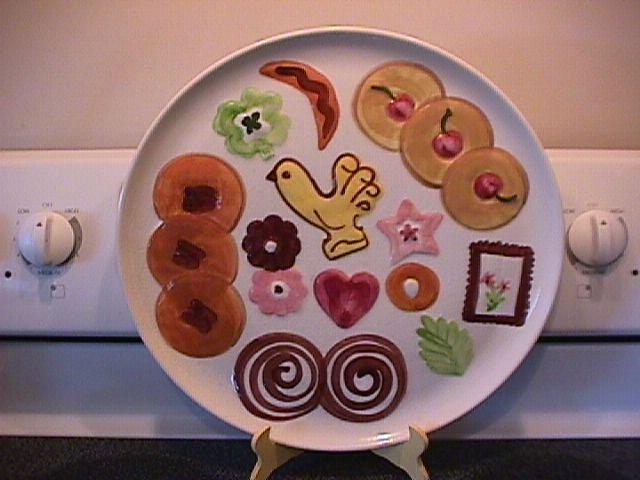 Los Angeles Potteries Candy Tray