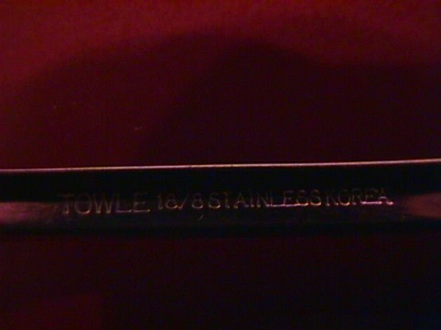 Towle Stainless 18/8