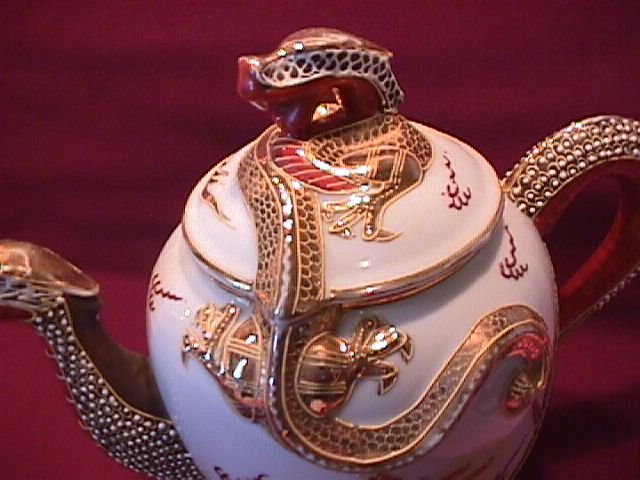 Dragon Ware Teapot