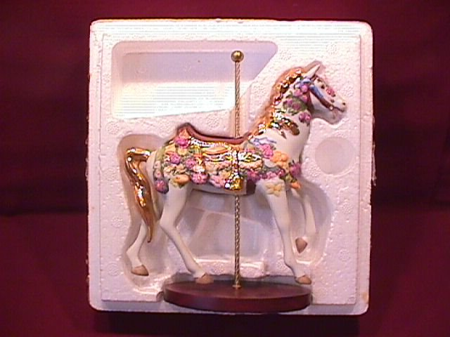 Franklin Mint Porcelain Carousel Animals Collection