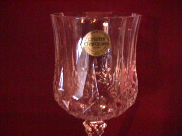 Cris D' Argues, Durand (Longchamp) Water Goblet