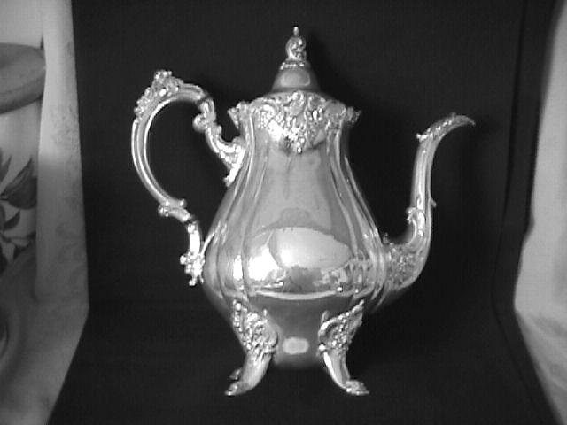 Wallace (Baroque) Silverplate Coffee Pot