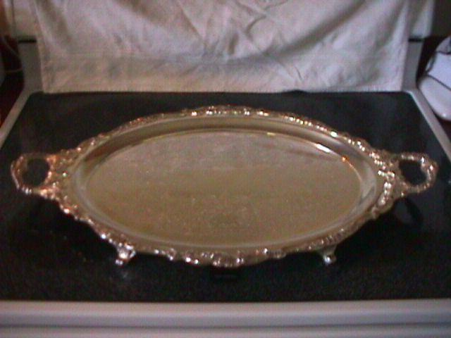 Wallace (Baroque) Silverplate Butlers Tray