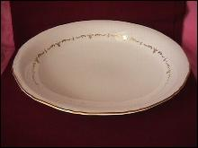 Royal Worcester (Gold Chantilly) Rare=Pasta Bowl