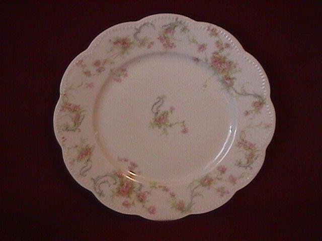 Haviland Porcelain (Schleiger #57-B) Salad Plate As Is