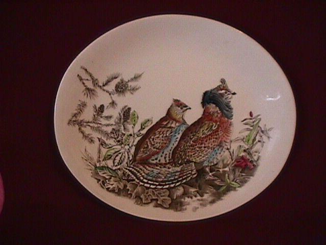Johnson Brothers China (Game Birds) Lunch Plate
