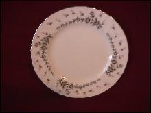 Style House Fine China (Picardy) Cake Plate