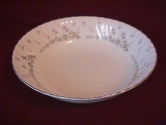 Style House Fine China (Picardy) Round Vegetable