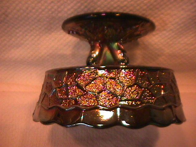 Dugan (Maple Leaf) Sauce Dish (Amethyst)