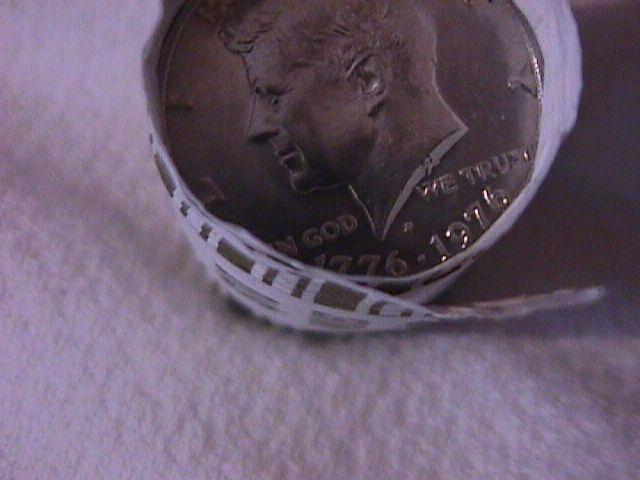 United States Kennedy Half Dollar Roll 1976-D