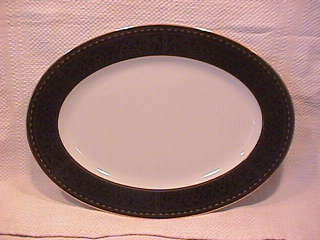 Noritake Fine China (Benedicta #6976) Ham Platter