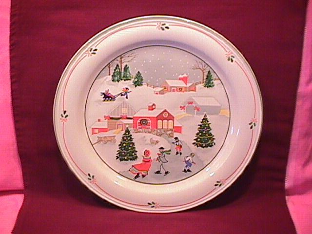 Sango Fine China (Silent Night #3900) Dinner Plate