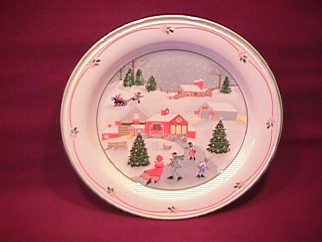 Sango Fine China (Silent Night #3900) Salad Plate