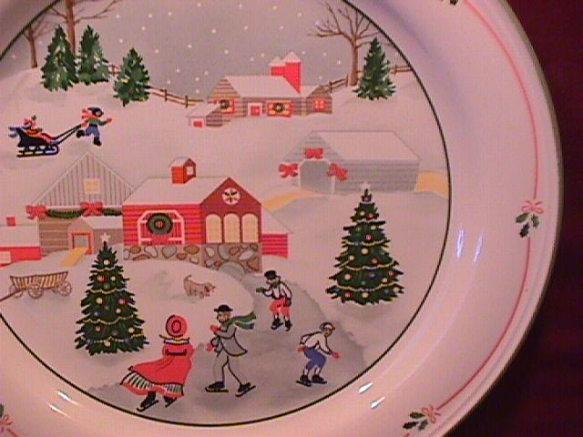 Sango Fine China (Silent Night #3900) Salad Plate