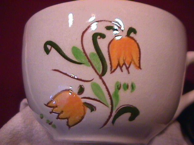 Stangl Potteries (Terra Rose) (Tulip) Salt Shaker