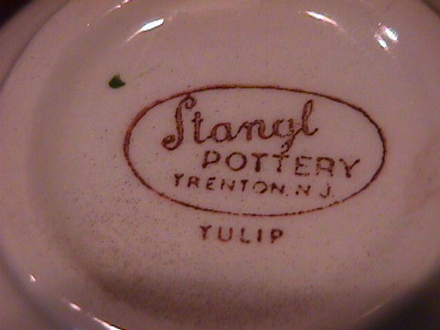 Stangl Potteries (Terra Rose) (Tulip) Salt Shaker