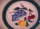 Stangl Potteries (Fruit) Salad Plate=W/Pear