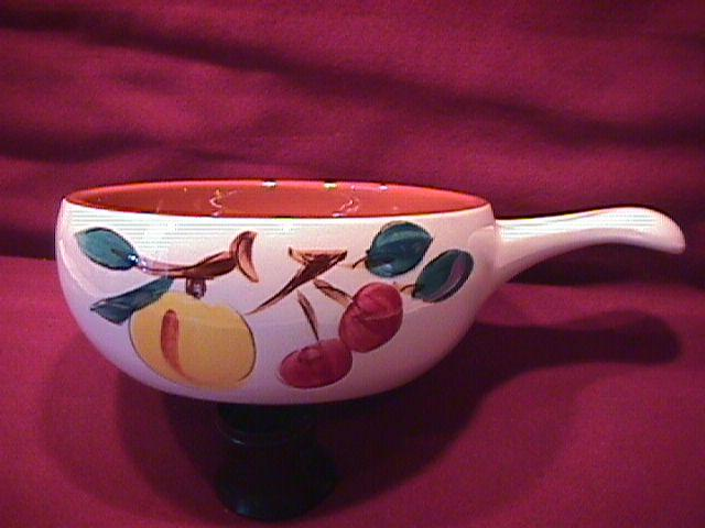 Stangl Potteries (Fruit) Peg Handled Soup