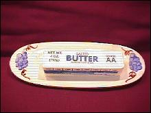 Stangl Potteries (Fruit) 1/4 Lb Butter Base Only
