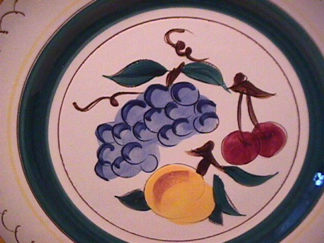 Stangl Potteries (Fruit) Sugar Lid (As Is)
