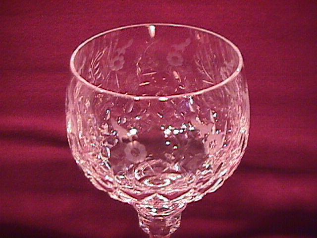 Rogaska Fine Crystal (Gallia) Hock Wine