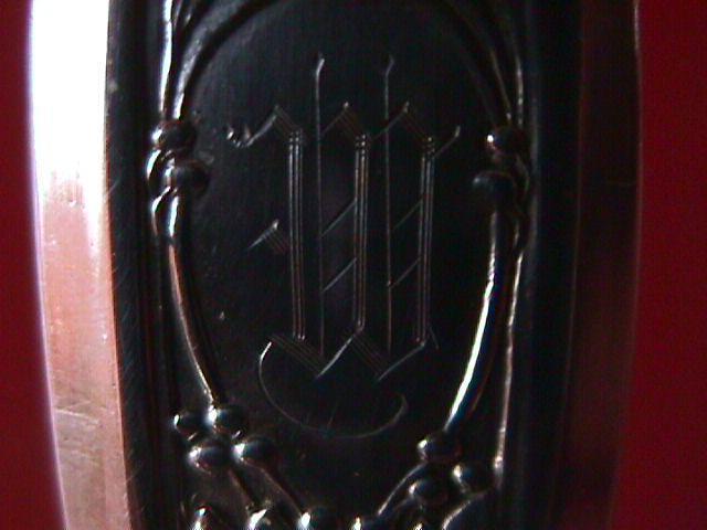 Alvin Silver Plate (Victory) Casserole Spoon