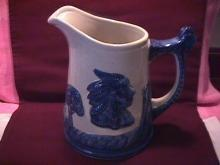Western Stoneware (Old Sleepy Eye) Milk Pitcher