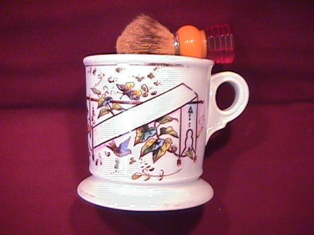 Koken Barber Supply Shaving Mug & Brush