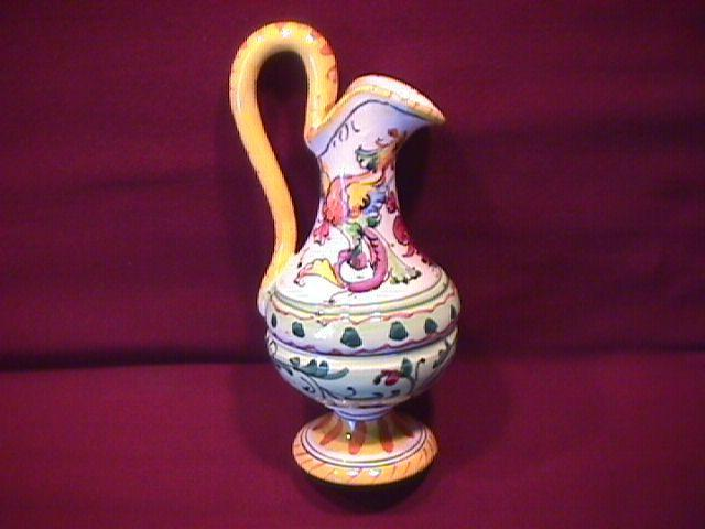 Polychrome Miniature Ewer (Italy)