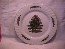 China Fine China (Christmas Village) Dinner Plate