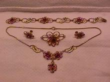 Vintage Van Dell Jewelry Set