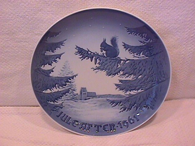 Bing & Grondahl Christmas Plate (Winter Harmony) 1961