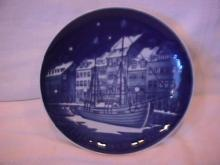 Bing & Grondahl Christmas Plate (Christmas Anchorage ) 1989