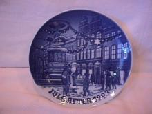 Bing & Grondahl Christmas Plate (Father Christmas in Copenhagen ) 1993