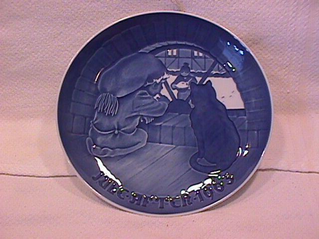 Bing & Grondahl Christmas Plate (The Christmas Elf) 1963