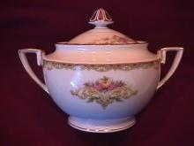 Noritake Fine China (Gloria) #95641 Covered Sugar
