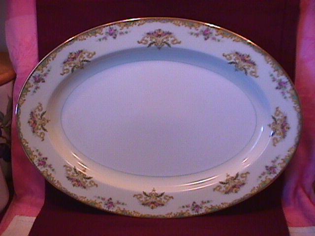 Noritake Fine China (Gloria) #95641 Turkey Platter