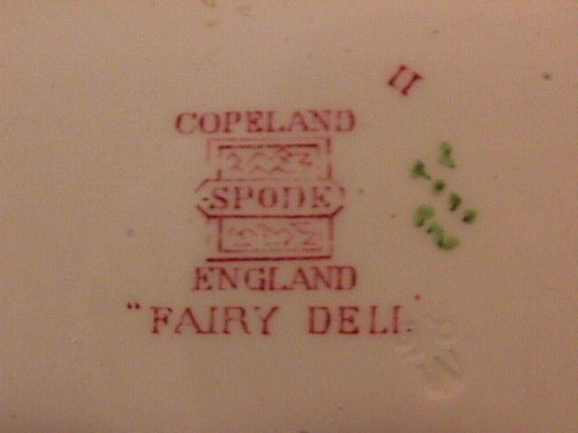 Spode Copeland (Fairy Dell) Dessert Plate
