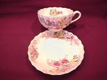 Spode Copeland (Fairy Dell) Cup & Saucer