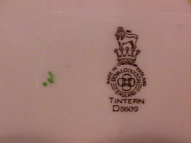 Royal Doulton China (Tintern) Cup & Saucer