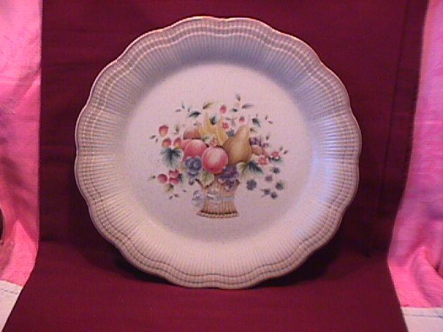 Mikasa Fine China (Welcome) Dinner Plate