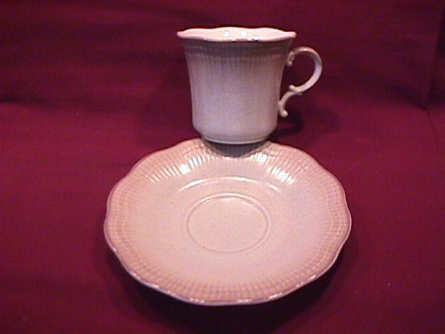 Mikasa Fine China (Welcome) Cup & Saucer