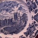 Wedgwood China (Royal Homes of Britain)-Blue  Dinner Plate