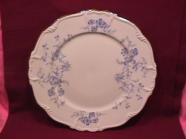 Edelstein Fine China (Ocean Blue) Dinner Plate