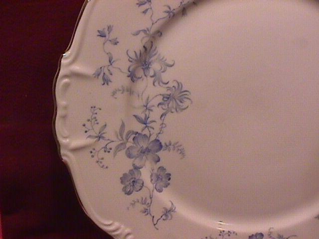 Edelstein Fine China (Ocean Blue)-2-Cake Plates