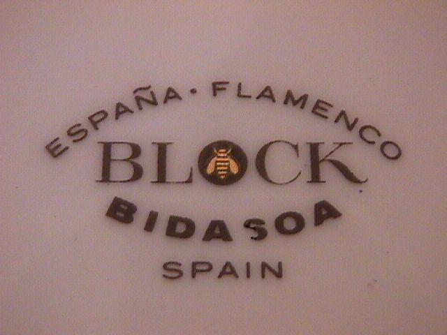 Block Bidasoa (Flamenco) Cereal Bowl