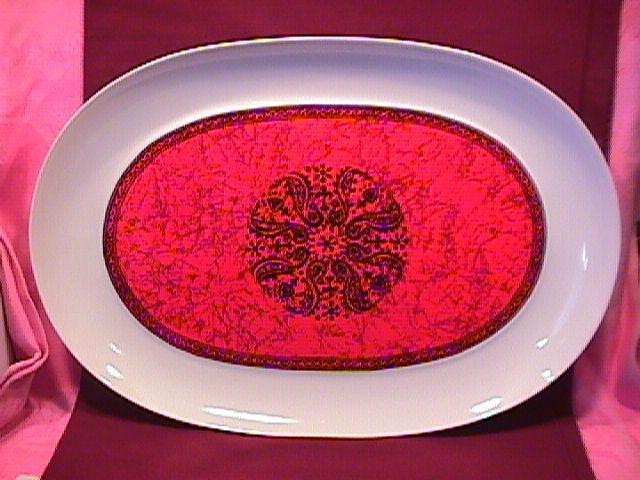 Block Bidasoa (Flamenco) Turkey Platter
