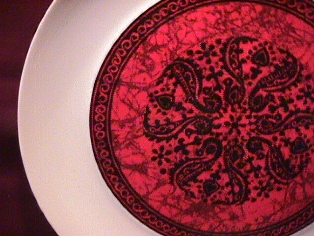 Block Bidasoa (Flamenco) Dinner Plate-As is