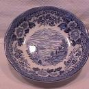 Royal Warwick China (Lochs of Scotland)-Blue Fruit Bowl