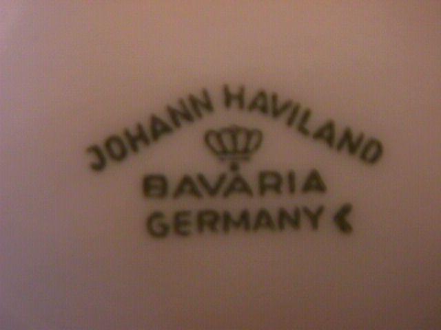 Johann Haviland Bavaria (Blue Garland) Gravy Boat